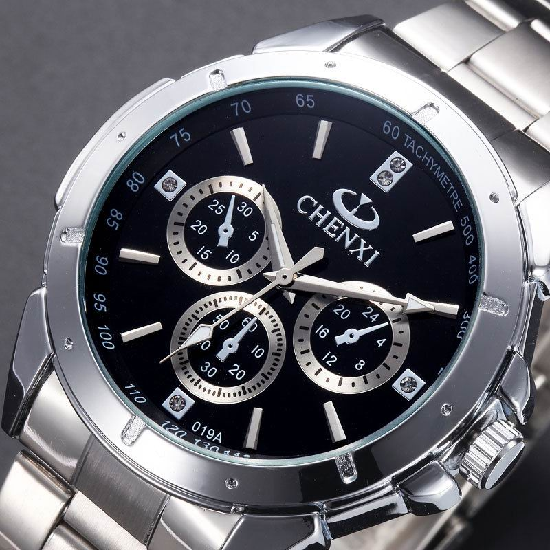 New 2017 Quartz Watches Men Top Brand Luxury CHENXI Wristwatch Famous Fashion Wrist Watch Baby Male Clock Relogio Masculino