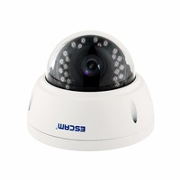 ESCAM Round QD420 Dome IP Camera 4MP Dome Camera IP Cam Network Cameras Indoor/Outdoor CCTV Cameras 12V