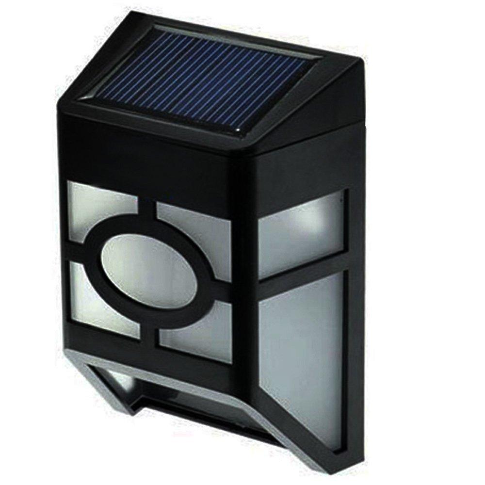 Waterproof Outdoor ip33 Solar Powered photo sensor Lights for House Outdoor  Wall Lamp Landscape Garden Fence