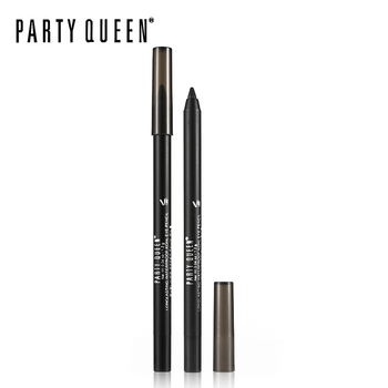 Party Queen Classic Eyeliner Pencil Gel Smooth Kohl Matte Black Eye Pen Makeup W