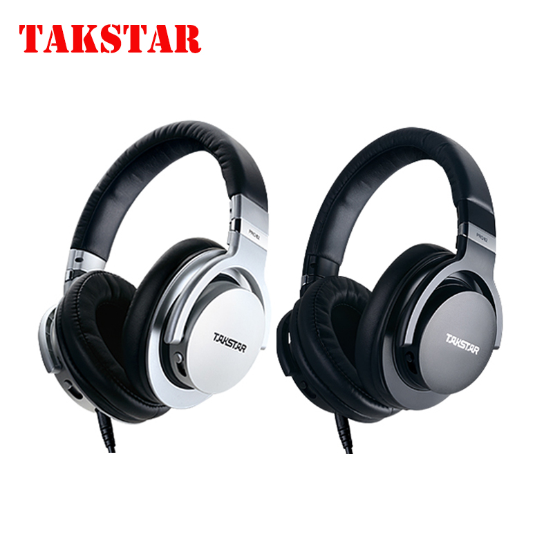 Original Takstar PRO82/pro 82 Professional monitor headphones HIFI headset for stereo,PC recording K song game,bass adjustable oneodio professional studio headphones dj stereo headphones studio monitor gaming headset 3 5mm 6 3mm cable for xiaomi phones pc