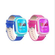 Q80 Kid Reloj Inteligente Tarjeta de la Ayuda SIM Smartwatch Llamada SOS Perseguidor de la Localización de Seguros Para Niños Anti-Perdido Monitor de Reloj