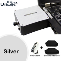 Laptop Cooling Intelligent Temperature Control Fixed USB Cooling Fan Radiator Notebook Cooler For 14 15 6