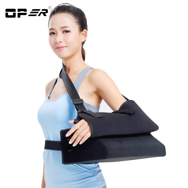 OPER Single Shoulder Belt arm Support Correct posture Bandage Brace Shoulder dislocation fixed Humeral Fracture Training Pads joints with a fixed belt dislocated fracture gesso splint ankle support