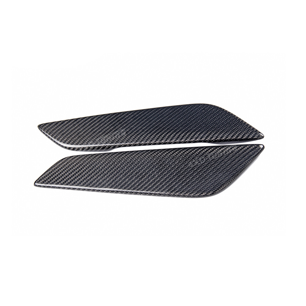 For BMW G30 Carbon Fender Trim 5 Series Carbon Fiber Fender Air Vents Exterior part Trim Cover Car Front Bumper Body Side 2017+ car styling carbon fiber side fender covers trim for nissan gtr base coupe 2008 2016