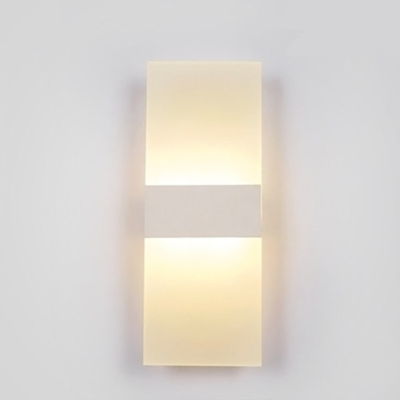 Aliexpress.com : Buy Modern LED Wall Lamp Acrylic Lampshade Wall Sconce Bedside Wall Light ...