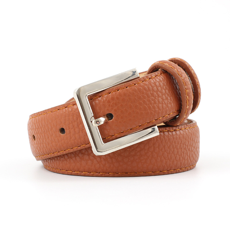 58c6a617a Detail Feedback Questions about 2018 New Designer Ladies Navy Blue Black  White Wide Leather Belt Female Silver Pin Buckle Strap Belts for Women  Jeans ...
