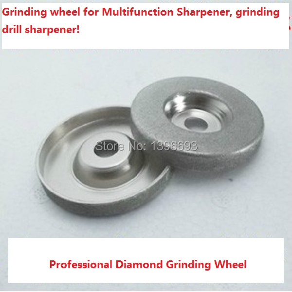 Grinding Wheel For Multifunciton Sharpener & Grinding Drill Sharpener.Free shipping! Sharpening wheel .Power tool accessories