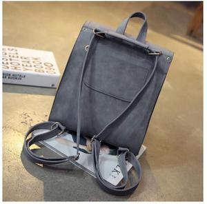 Image 3 - 1 piece Pu Leather bandage Tassel Square Weave Women Backpack School bag for teenager Girls Female