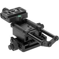 Kingjoy VM 10 4 Way Aluminium Alloy Camera Tripod Head Slider Micro Adjusting Stand Holder Sliding for DSLR Camera