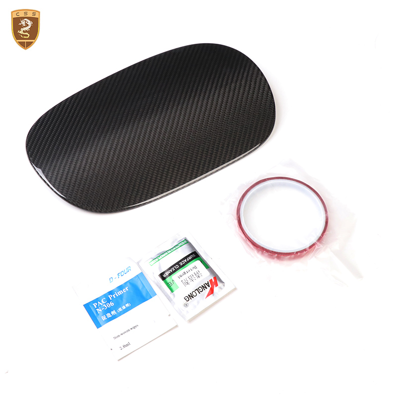 Carbon Fiber Fuel Tank Cover For Porsche Panamera 971 2017 2018 Auto Accessories for Car Modified exterior parts Car Styling