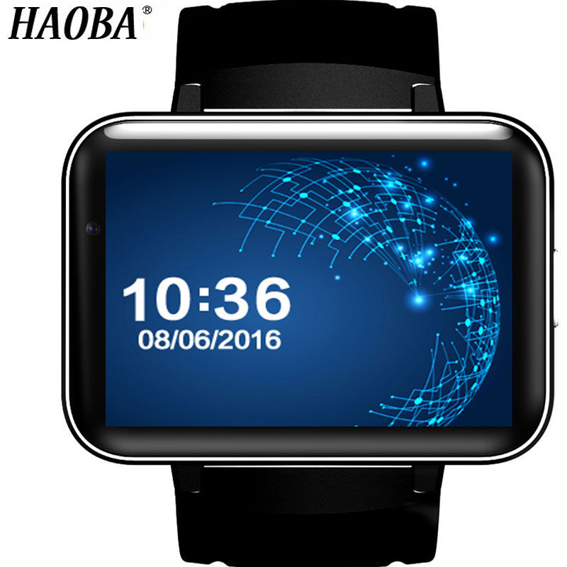HAOBA Smart Watch With 3G WIFI Watch Phone Sleep Monitor Pedometer GPS SIM Card Smartwatch For Android 5.1 IOS xiaomi huawei цены