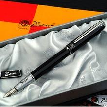 Черная ручка Picasso 916, набор для рисования, каллиграфия, подводная ручка, иридиевая перьевая ручка, Подарочная чернильная ручка без коробки OWT002
