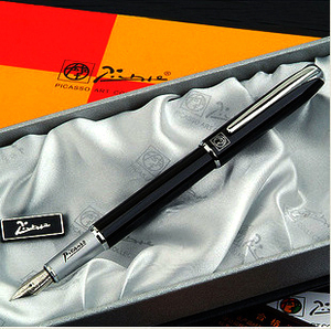 black Picasso pen 916 financial practice art set calligraphy liner pen iridium fountain pen gift ink pen without box OWT002