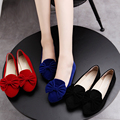 Spring Autumn Women Loafers Candy Color Slip on Shoes Woman Bowtie Ballet Flats ladies Car shoes ballerina zapatos mujer 3054