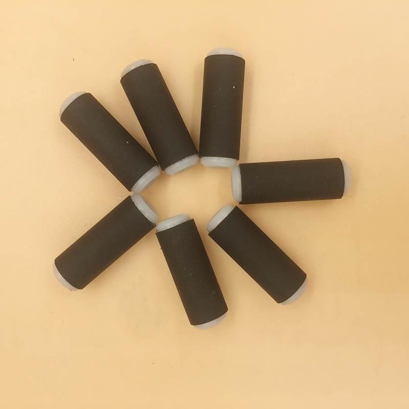 24PCS Xaar 128 printhead rubber pinch roller for Myjet Infiniti Wit color Crystaljet printer paper pressure