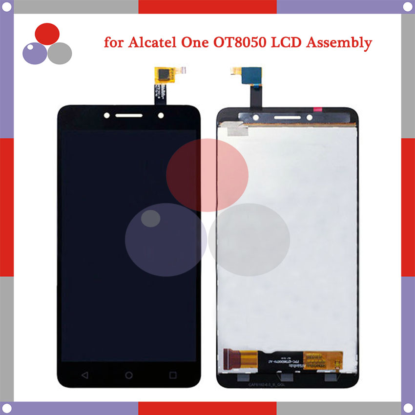 For Alcatel One Touch Pixi 4 OT-8050D OT8050 8050D 8050 6.0 LCD Screen Display + Touch Screen Digitizer Assembly Free Shipping