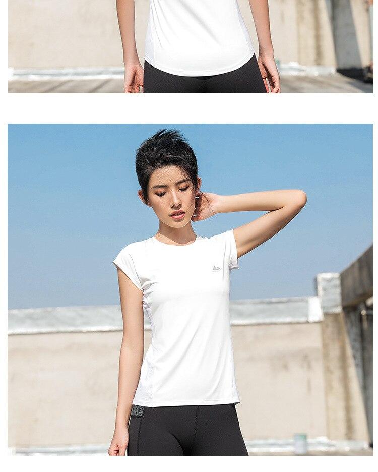 Magro Luz Fluorescente Feminino Respirável Camisas Sem