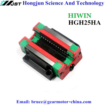 New Original HIWIN HGH HGH25 Square Type Linear Block HGH25HA Sliding Carriage for 23mm width HGR25 linear guide rail