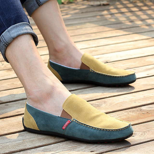 Summer 2013 low-top fashion male shoes male shoes gommini loafers