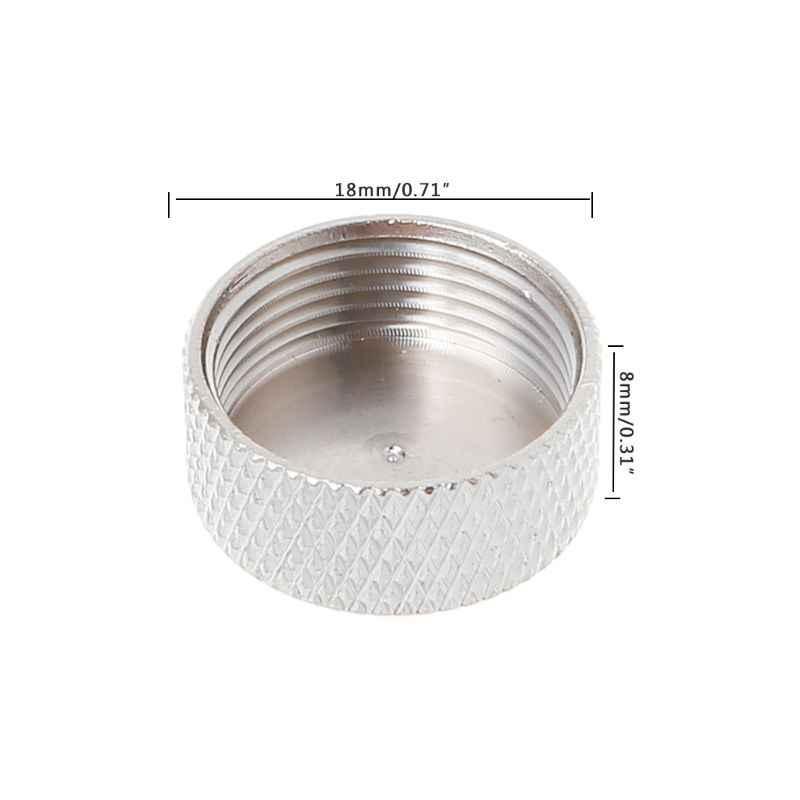 Tappo di protezione Coperchio di Protezione Danni Protector per N Femmina/UHF SO239 Connettore RF