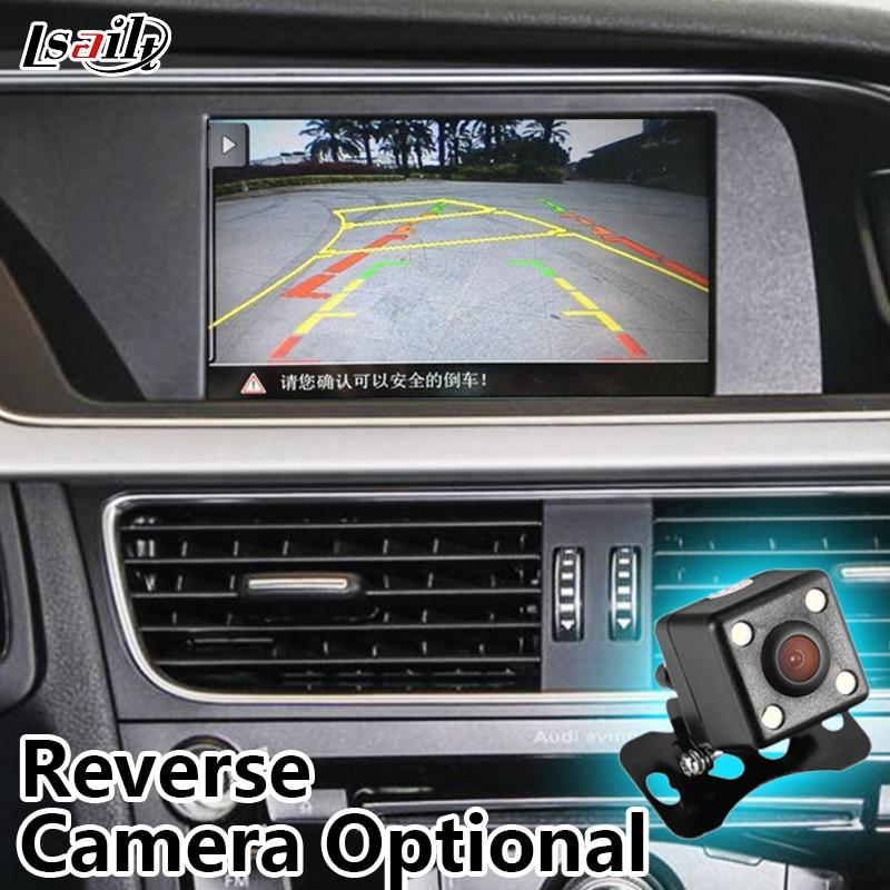 Multimedia Video Interface mit Eingebautem Navigation unterstützung Rückfahrkamera, DVD, TV für 2009-2015 AUDI A6L/A8L/Q7/A4L/A5/S5/Q3/A1
