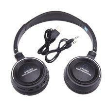 CES Беспроводной 3 в 1 многофункциональный стерео Bluetooth наушники гарнитура с микрофоном MP3 плеер FM радио для телефона Tablet PC