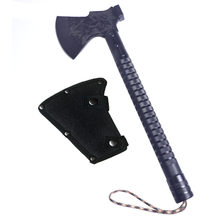 King Sea Outdoor Dismountable Camping Axe Aluminium Alloy Folding Tomahawk Axe Multifunctional Survival Hatchet with Knife(China)