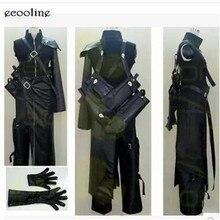 Новинка! Аниме Final Fantasy VII Cloud FF7 AC Униформа Костюм Игровой костюм для косплея на заказ любой размер