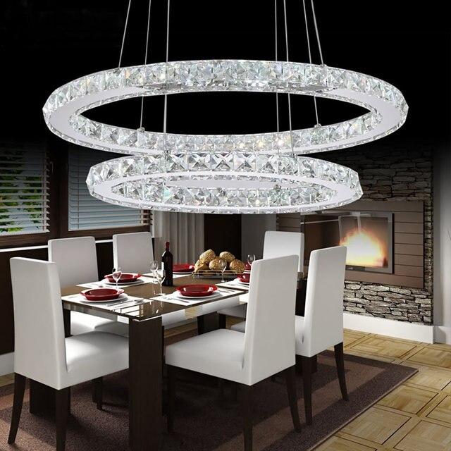 Online-Shop Kristall moderne led-deckenleuchte warmweiß ...
