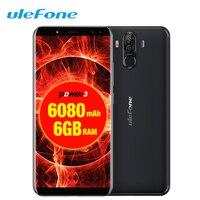 Ulefone power 3 Face ID мобильный телефон 6,0
