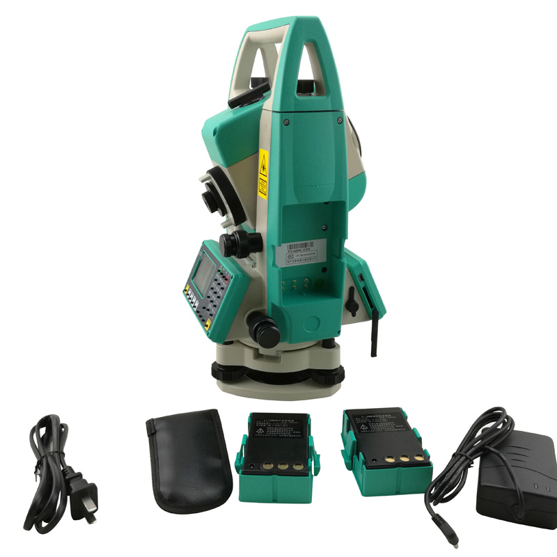 Total Station, distance to the prism,RTS 822R4X, Ruide,