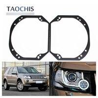 TAOCHIS Car Styling Frame Adapter DIY Bracket Holder For Land Rover Freelander 2 Hella 3R G5