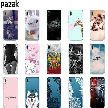 Huawei y6 2019 Case Huawei Y6 2019 Silicone TPU Cover Soft Phone case For Huawei Y6 2019 MRD-LX1 MRD-LX1F Y 6 pro Y6Prime Case 1