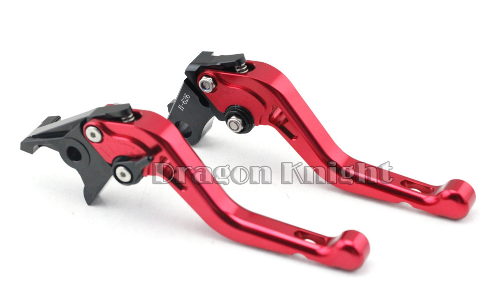 Motocycle Accessories For HONDA NC700 NC750 CTX700 Short Brake Clutch Levers Red