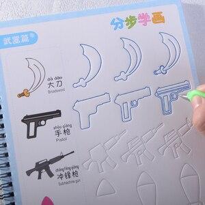 Image 2 - Neue Nut Tier/Obst/gemüse/anlage Cartoon Baby Zeichnung Buch Färbung Bücher für Kinder Kinder Malerei libros alter 3 9