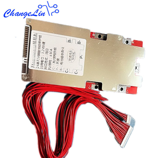 17S 64V 21S 72V 13S 48V Li ion Lipo 20S 60V 24S 72V Lifepo4 High Current Lithium Battery Pack Protection Board BMS 50A 3.2V 3.7V