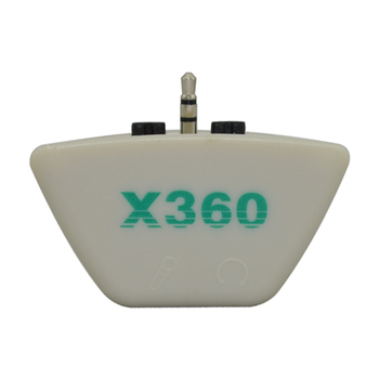 50PCS For Microsoft xbox360 for Xbox 360 2.5mm to 3.5mm Headset Converter Headphone Microphone Adapter