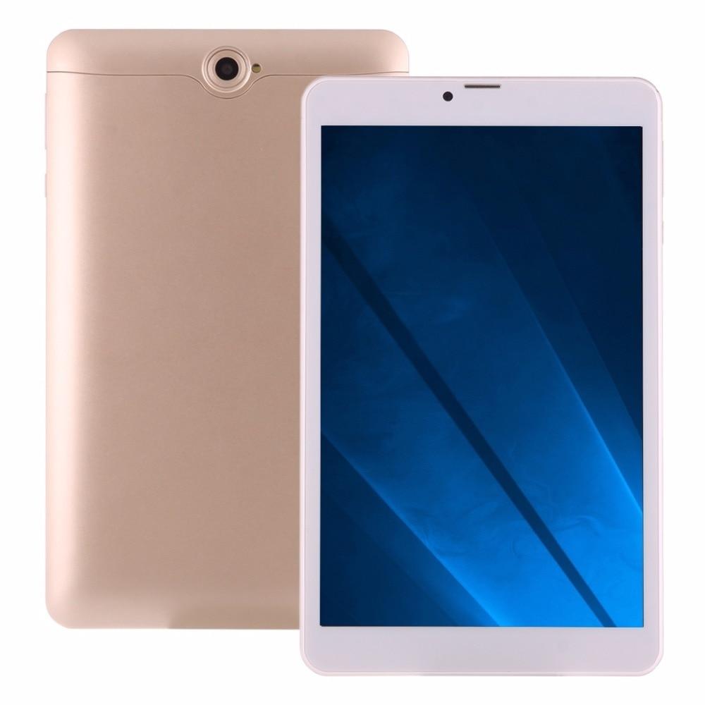 8 inch 4G Phone Call Tablet PC MTK8735 Cortex-A53 Quad Core 1GB 16GB Android 6.0 OTG GPS Dual SIM Bluetooth WiFi 10 1 tablet pc android 4 4 quad core 1 5ghz 1gb 16gb wifi bluetooth tablet pc 1gb 32gb tablet pad fashion design