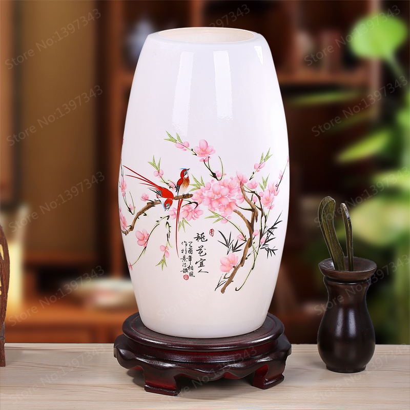 Modern Chinese Porcelain Table Lamps Fashion Bedroom Bedside Lamp E27 110V-220V Holder Ceramic Reading Desk Lights TLL-432 modern ghost shadows bedroom bedside table lamps reading desk lights art home and room decorations tll 3