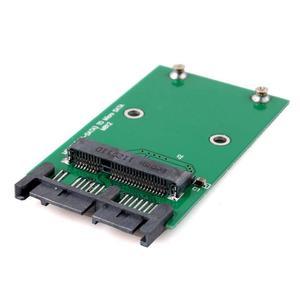مصغرة PCI-e بكيي mSATA 3x5 سنتيمتر SSD إلى 1.8 مايكرو SATA محول محول بطاقة #55346