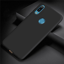 For Huawei Y6 2019 Case Cover for Soft Rubber Silicone Armor Bumper Protective TPU Phone