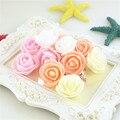 500 искусственная многоцветная Мини-головка розы из пенополиэтилена, искусственная головка розы, сделай сам, украшение для дома, свадьбы, пра...