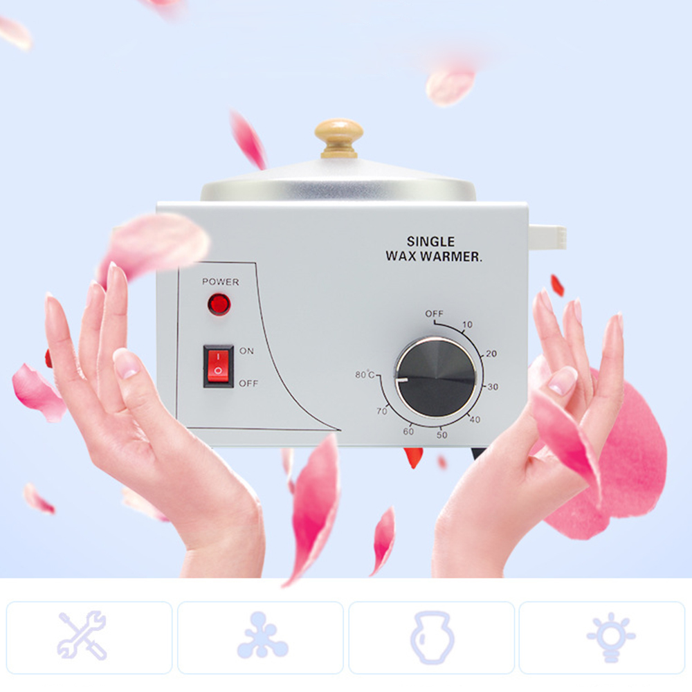 GUSTALA Wax Warmer Epilator Single Pot Paraffin Heater Warmer Depilatory Machine Wax Therapy Instrument Hair Removal Depilation шапки варежки перчатки molo colder