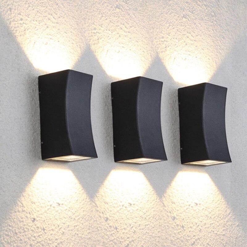 luzes de parede ao ar livre indoor 03