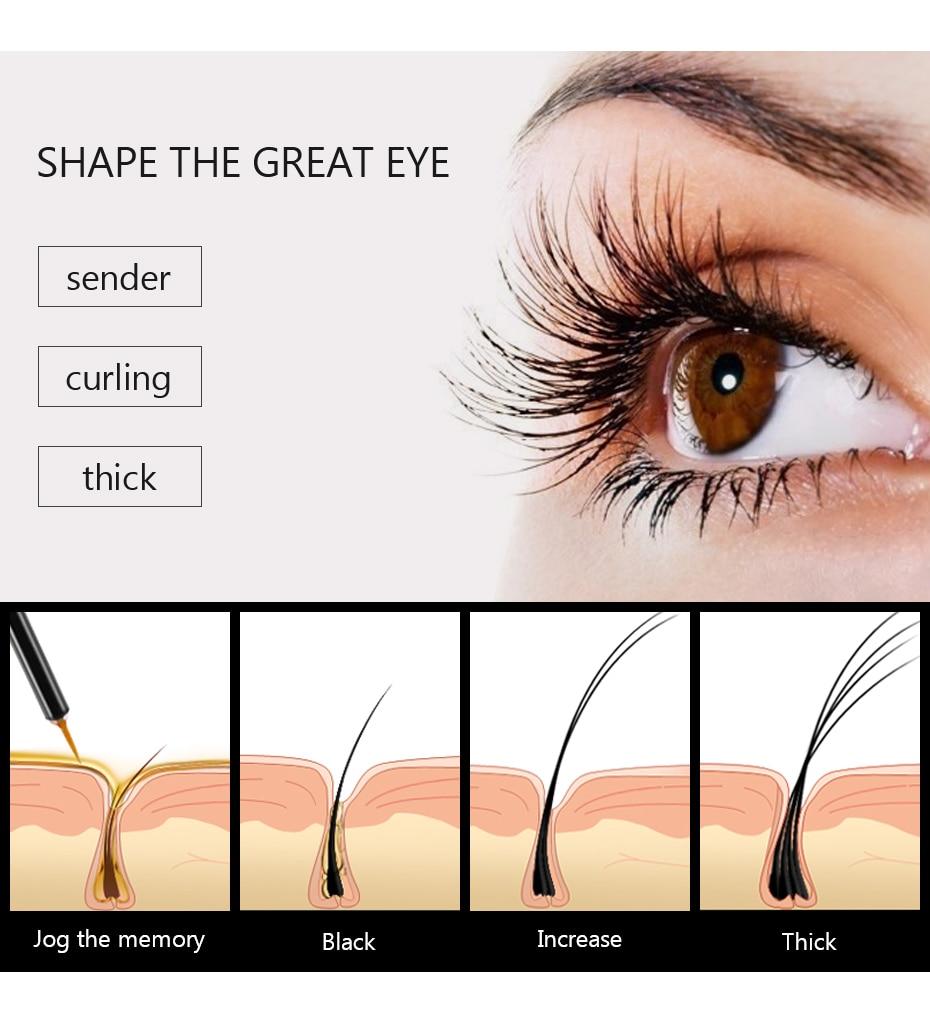 maquiagem cílios crescimento soro líquido enhancer olho lash