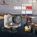 Original Eken H8 PRO Ultra HD Ação Câmera com Ambarella chip de A12 2.0 'Tela 4 k/30fps 1080 p/120fps h8pro Câmera esporte