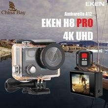 Оригинал Экен H8 Pro Ultra HD Действие Камера с Ambarella A12 чип 2.0 'Экран 4 К/30fps 1080 P/120fps h8pro Спорт Камера