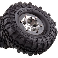 ENRON – pneu Super Swamper 1P avec jante en aluminium de 1.9 pouces, moyeu de 110MM, pour RC 1:10 Rock Crawler D90 D110 MST jimny TRX4 TF2