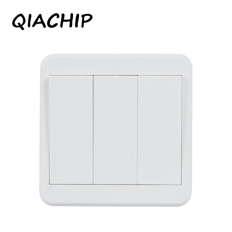 QIACHIP WiFi Smart Switch Light Wall Switch APP Remote Control Manual Panel Work with Amazon Alexa Google Home 433 mhz wireless wifi switch smart home automation module timer diy light wall switch app control work with amazon alexa voice control